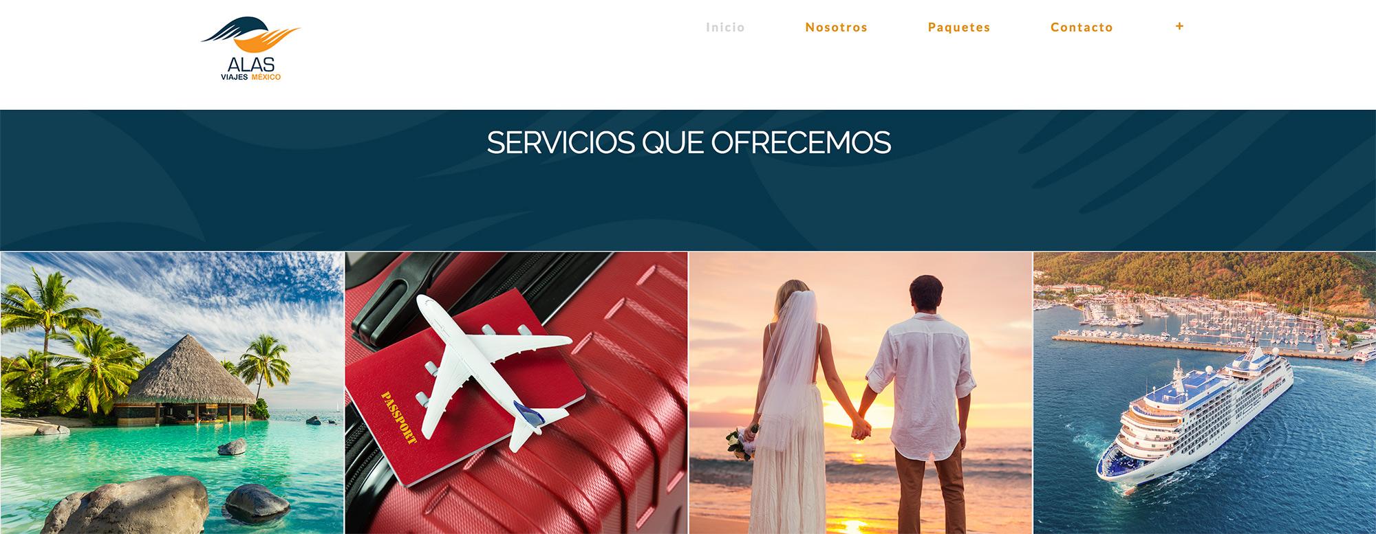 alt= Alas Viajes México Portafolio Cuantica